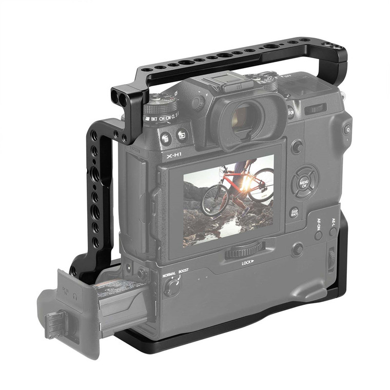 SmallRig Cage for Fujifilm X-H1 Camera with Battery Grip 2124