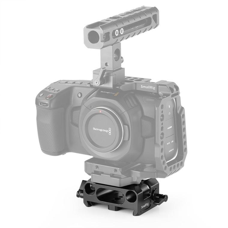 SmallRig Baseplate for Blackmagic Design Pocket Cinema Camera 4K (SmallRig Cage 2255 Compatible Only) 2267