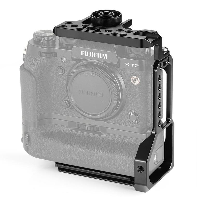 SmallRig L-Bracket for Fujifilm X-T2/X-T3 Camera with Battery Grip 2282