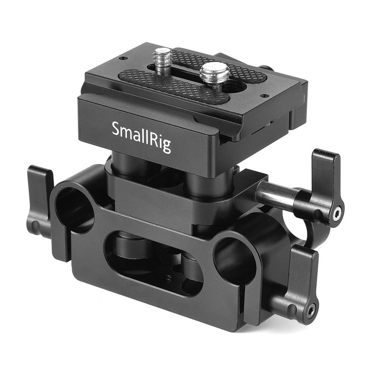 SmallRig Universal 15mm Rail Support System Baseplate 2272