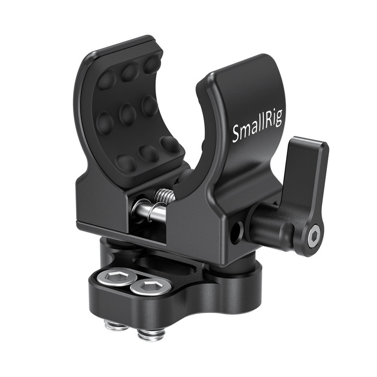 """SmallRig Shotgun Microphone Holder (1/4""""-20 Screw) BSM2489"""