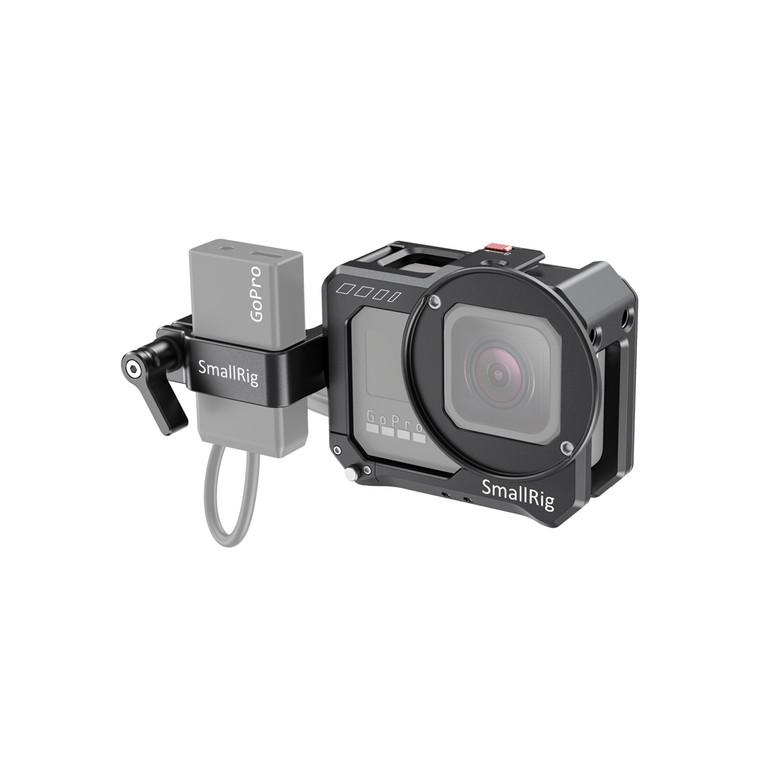 SmallRig Vlogging Cage and Mic Adapter Holder for GoPro HERO8 Black CVG2678