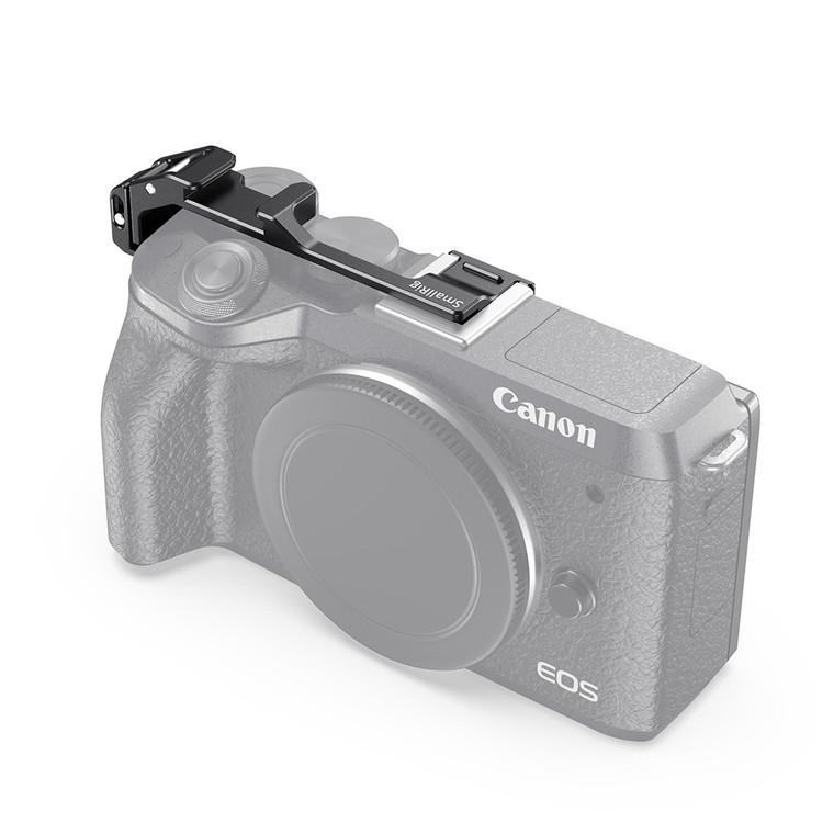 SmallRig Vlogging Shoe Mount Relocation Plate for Canon EOS M6 Mark II BUC2627