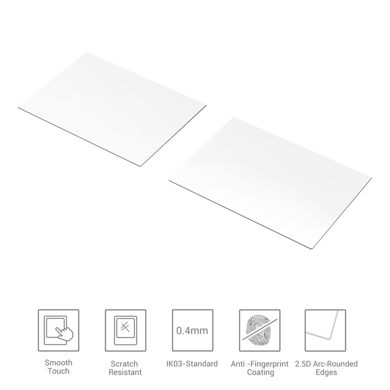 SmallRig Tempered Glass Screen Protector for Sony A7 & A9 & RX100 & ZV1 Camera (2 pcs) 3191