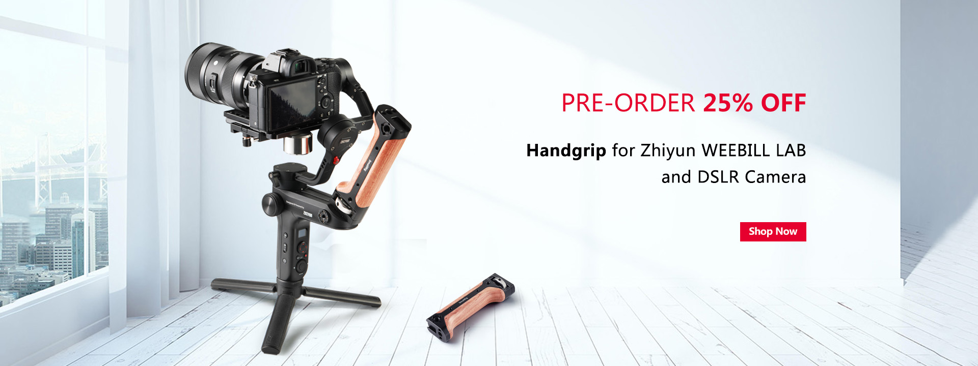 handgrip for zhiyun