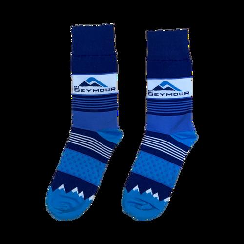 Mt Seymour - Striped  Socks