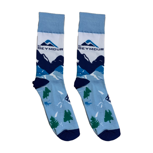 Mt Seymour - Mountain Socks - 1 Pair
