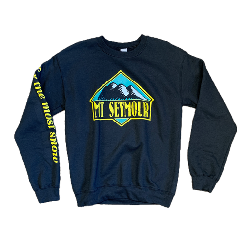 Mt Seymour - Heritage Sweater - Black - Front