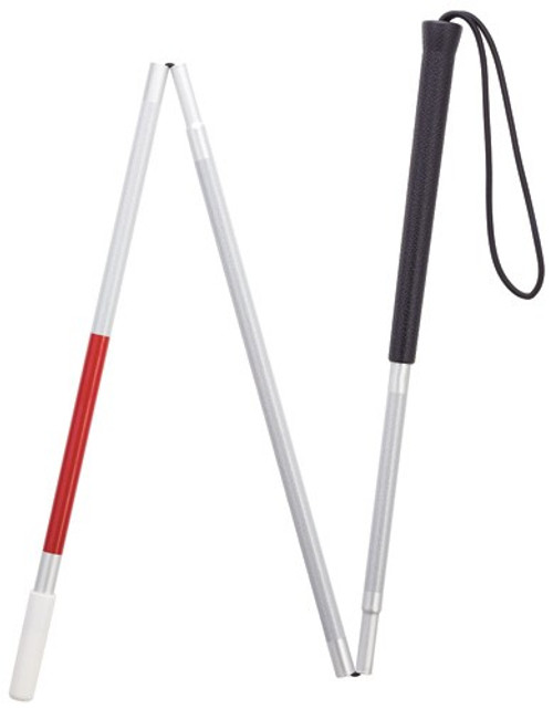"""45"""" Folding Walking Cane For The Visually Impaired"""