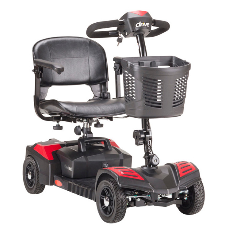 Drive Scout SFSCOUT4-EXT 4 Wheel Travel Power Scooter with Extended Battery
