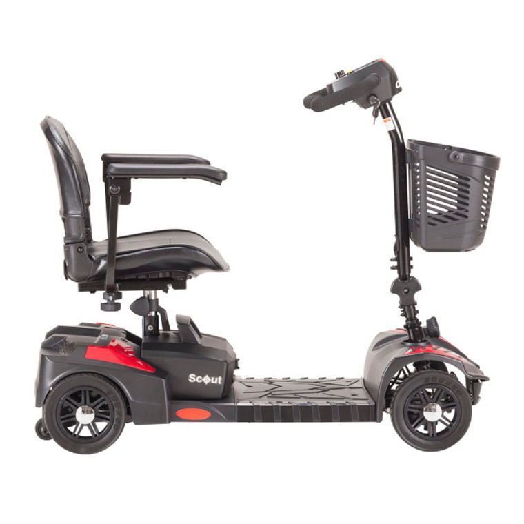 Drive Medical Scout Compact 4 Wheel Travel Power Scooter