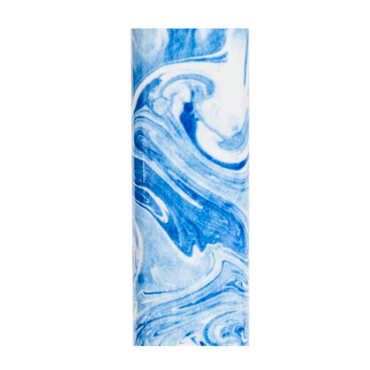 Drive Medical Offset Handle Aluminum Cane Blue Swirl