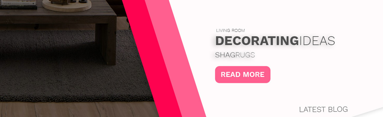 Living Room Decorating Ideas with Shag Area Rugs - Rug Fashion Store