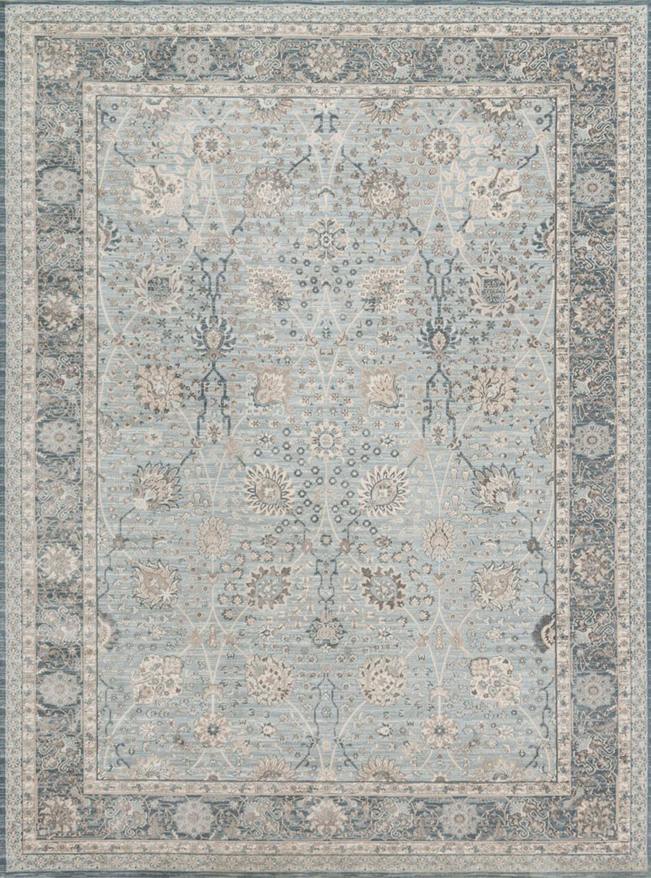 135fdfb07 Magnolia Home Ella Rose EJ-01 LIGHT BLUE DARK BLUE by Joanna Gaines.  Free-Shipping-Rug-Fashion-Store