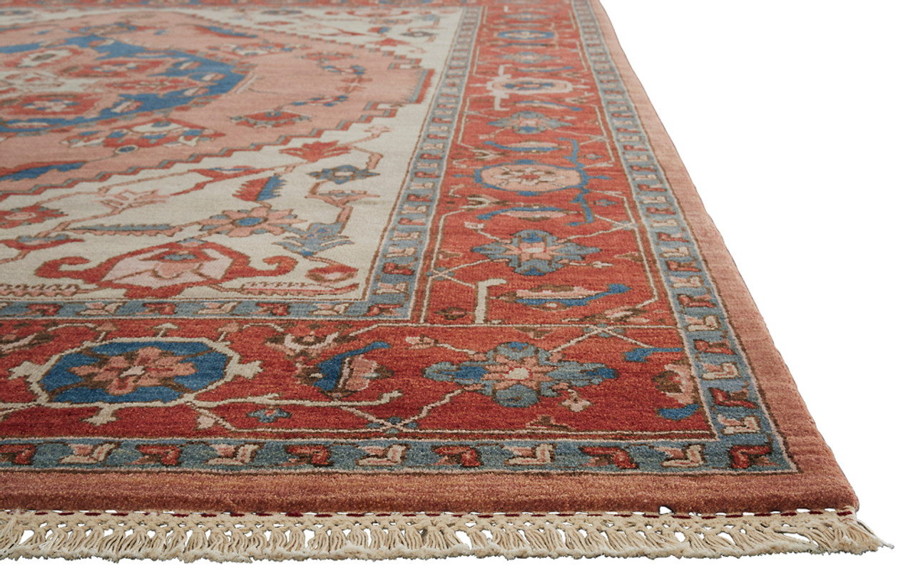 Artemis By Jaipur Living Avon Hand Knotted Medallion Red Blue Area Rug Jai Red Ut09 Free Shipping Rug Fashion Store