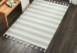 Decorating with Striped Area Rugs
