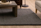Living Room Decorating Ideas with Shag Area Rugs