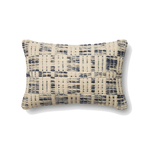Magnolia Home P0426 BLUE IVORY Pillow by Joanna Gaines