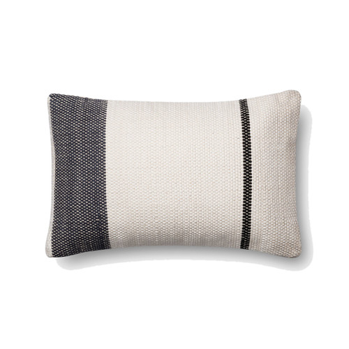 Magnolia Home P1002 NAVY WHITE Pillow by Joanna Gaines