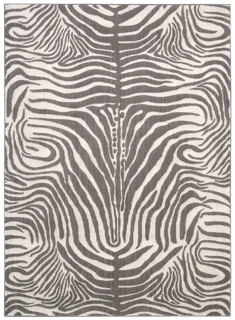 Barclay Butera Madagascar Graphite Area Rug by Nourison
