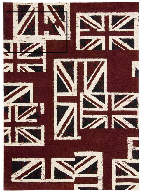 Barclay Butera Intermix Union Jack Area Rug by Nourison