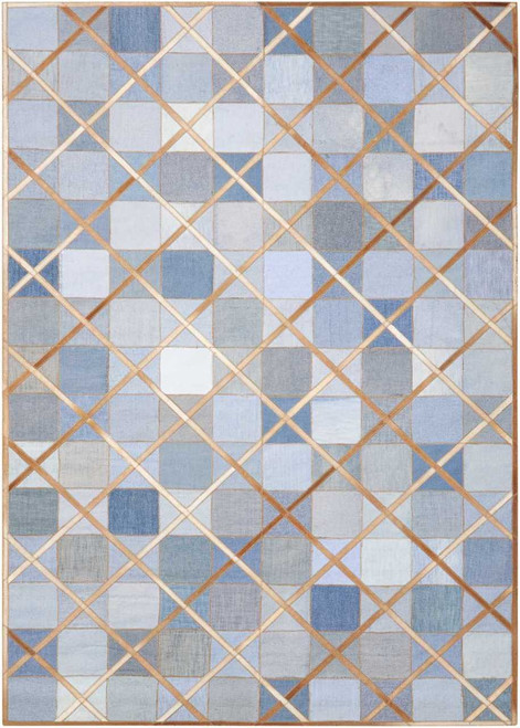 Barclay Butera Cooper Denim Area Rug by Nourison