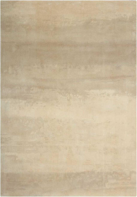 Calvin Klein Home Luster Wash Dune Ivory Area Rug by Nourison