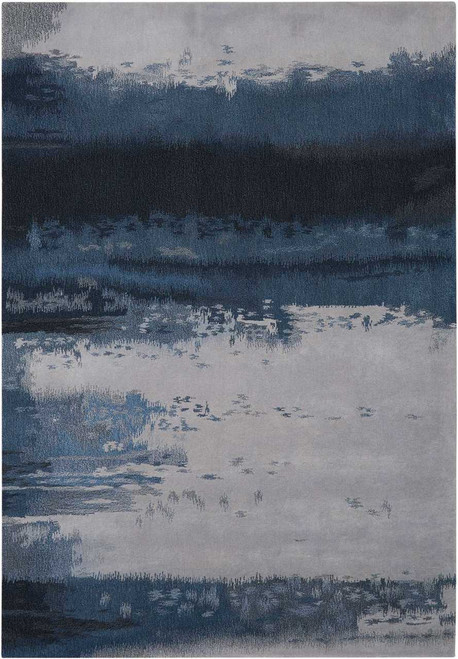 Calvin Klein Home Luster Wash Dusk Shade Area Rug by Nourison