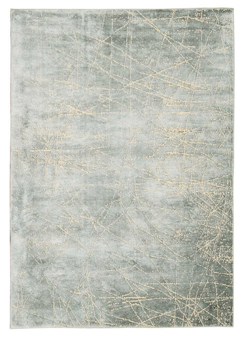 Calvin Klein Home Maya Etched Light Mercury Area Rug by Nourison
