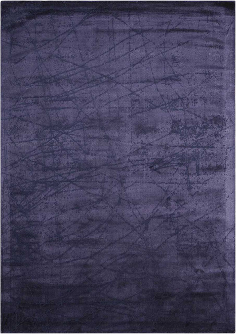 Calvin Klein Home Maya Etched Light Orchid Area Rug by Nourison