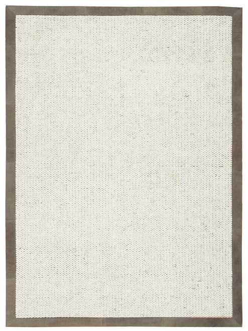 Calvin Klein Collection Lucia Este Oyster Area Rug by Nourison