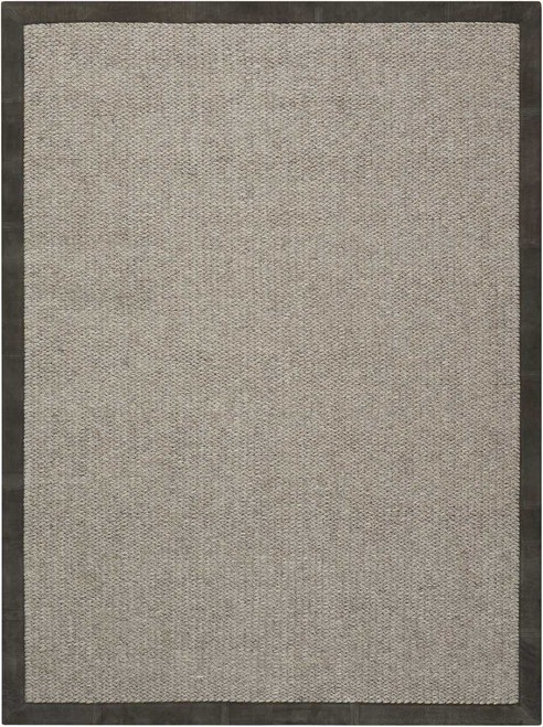 Calvin Klein Collection Lucia Este Slate Area Rug by Nourison