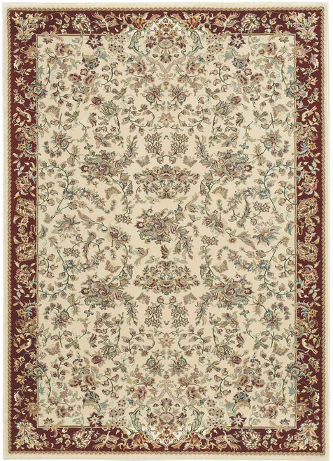 """Kathy Ireland Antiquities """"Timeless Elegance"""" Ivory Area Rug by Nourison"""