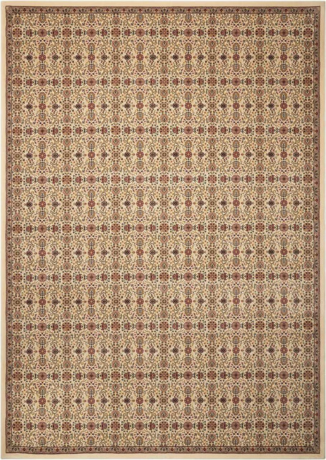 Kathy Ireland Antiquities Ivory Area Rug by Nourison