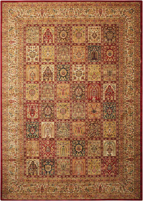 """Kathy Ireland Ancient Times """"Asian Dynasty"""" Multicolor Area Rug by Nourison"""