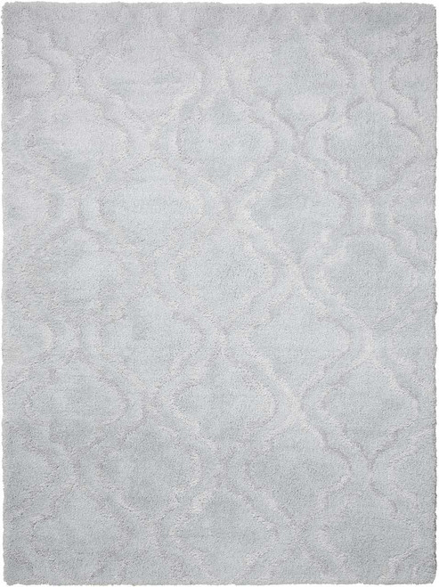 Kathy Ireland Light & Airy Light Grey Area Rug by Nourison