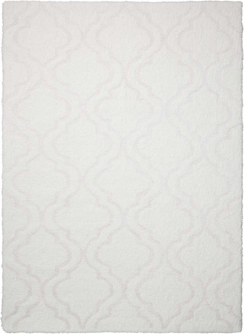 Kathy Ireland Light & Airy White Area Rug by Nourison