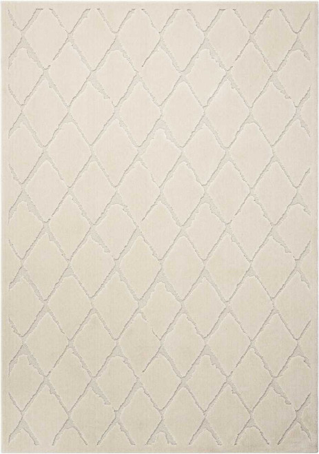 Michael Amini Gleam Ivory Area Rug by Nourison