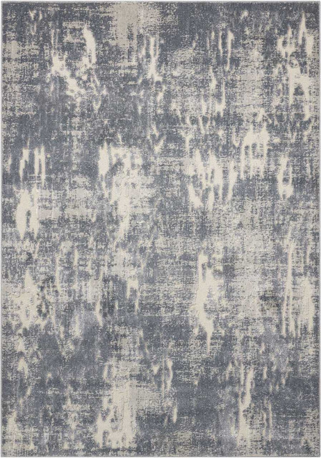 Michael Amini Gleam Slate Area Rug by Nourison