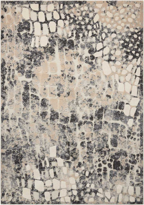 Michael Amini Gleam Flint Area Rug by Nourison