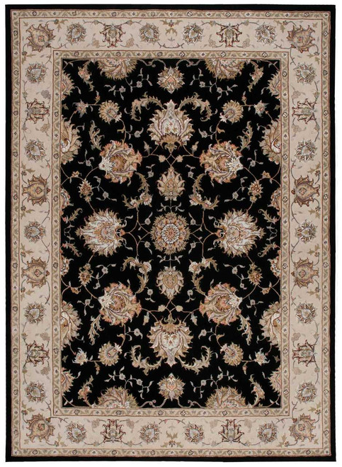 Michael Amini Serenade Black Area Rug by Nourison
