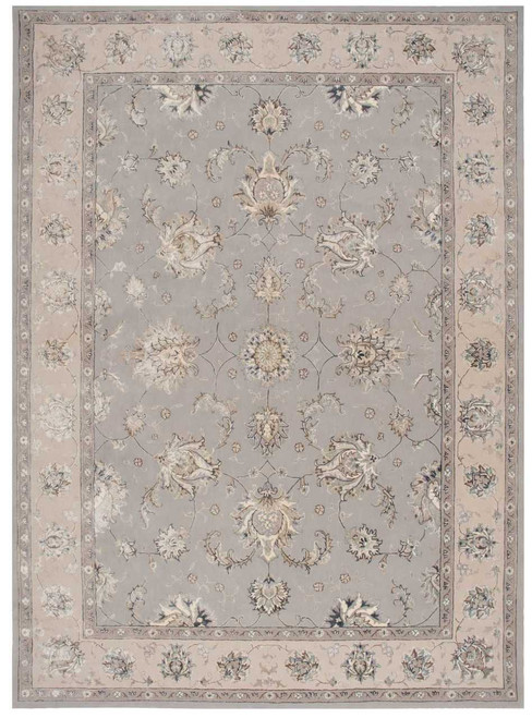 Michael Amini Serenade Grey Area Rug by Nourison