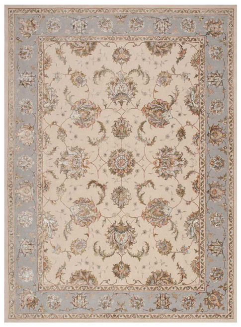 Michael Amini Serenade Ivory/Grey Area Rug by Nourison