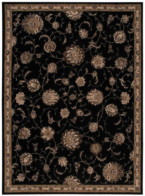 Michael Amini Serenade Black Area Rug by Nourison - SRD02