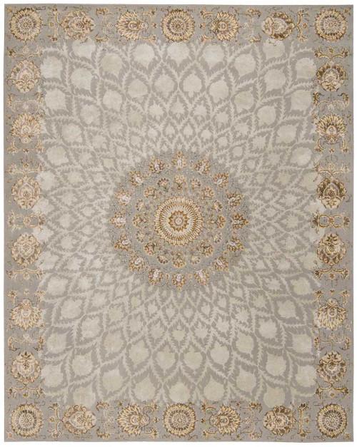 Michael Amini Serenade Silver Area Rug by Nourison