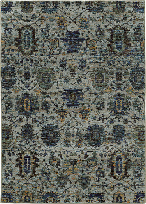 Oriental Weavers Andorra OW-7120A BLUE | Hot Deals