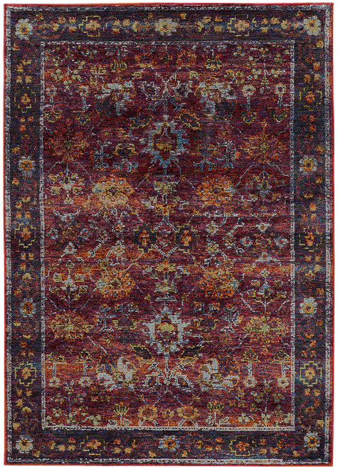 Oriental Weavers Andorra OW-7153A RED | Hot Deals