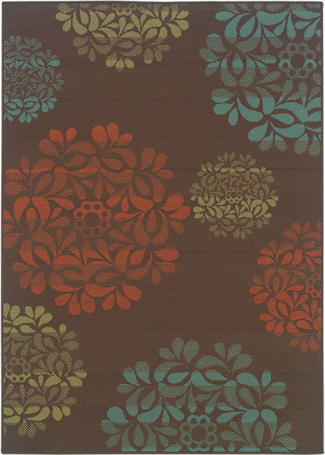Oriental Weavers Montego OW-2635N BROWN | Hot Deals
