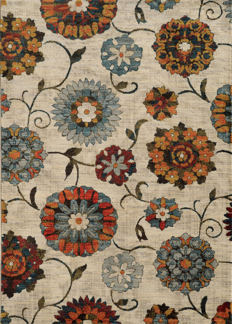 Oriental Weavers Sedona OW-6361A IVORY | Hot Deals