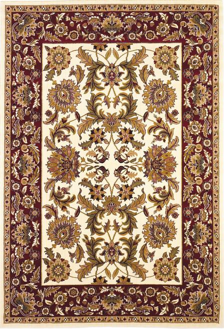 KAS Cambridge 7303 Ivory Red Kashan